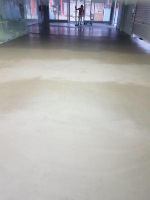 Epoxy SL With Moisture Barrier System, Car Wash Center, Sri Rampai
