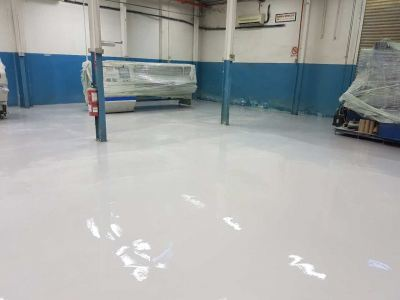Epoxy SL With Moisture Barrier System, Tesa Tape Printing Factory, Bangi