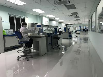 Epoxy SL Flooring System, Riverstone Resources Rubber Glove Manufacturer, Bukit Beruntung