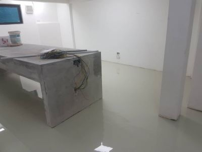 Epoxy Self Levelling Flooring System, Bungalow Workshop, Shah Alam