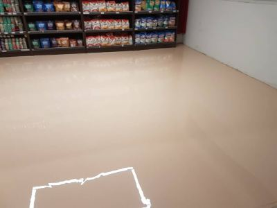 Epoxy Self Levelling Flooring System, Jaya Grocer Supermarket, Empire Sales Gallery, Subang Jaya