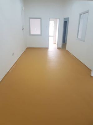 PU MF Flooring System Buff Yellow, Food And average Line Ara Damansara Subang