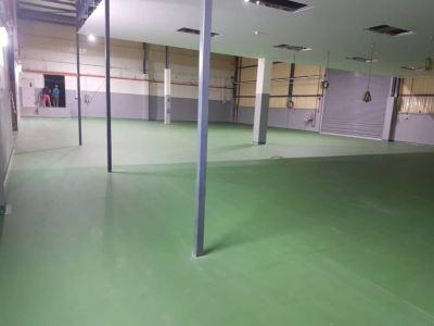 PU MF Flooring, Manufacturing Plant Factory Warehouse Bukit Minyak, Penang