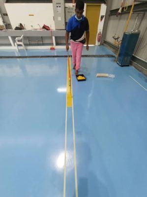 PU UV Coating On Mortar System For A Hangar, TLDM, Markas Udara, Lumut, Perak