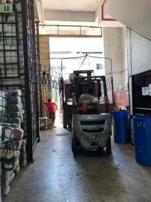 04.12.2018 Loading bundle to customer's lorry