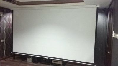 12 feet Home Cinema Screen Setup