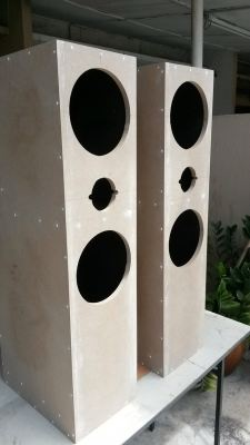 Custom Made Tower Speakers