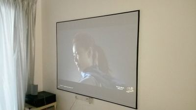 DIY 100 inch Screen