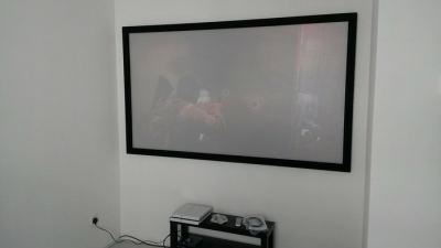 PS4 Home Cinema with Fixed Frame Setup