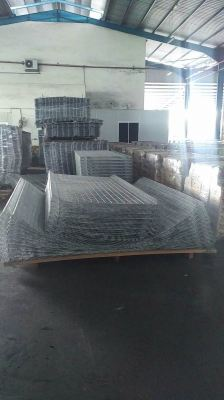 BRC FENCE EXPORT TO BATAM INDONESIA