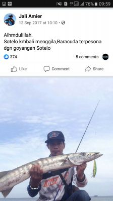 Sotelo Angler - Barracuda