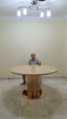 Romano Classico | Beige Marble Dining Table