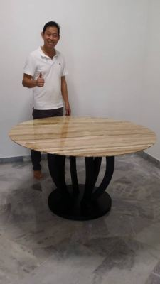Luxury Dining Table   Stain Free   Dilegno Onyx