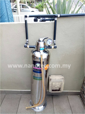 NanoTec 304 Stainless Steel Outdoor Water Filter - Cheras
