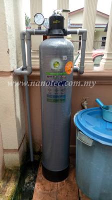 NanoTec FRP Outdoor Water Filter Service - Ampang Selangor