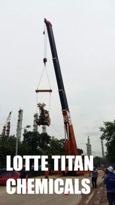 300 Tonne Mobile Crane In Lotte Titan