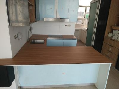 U shape Kitchen Top