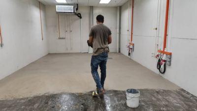 PU Floor Coating Self-smoothing
