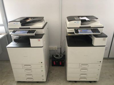 SET UP ONE UNIT OF COPIER MACHINE FOR CUSTOMER OFFICE