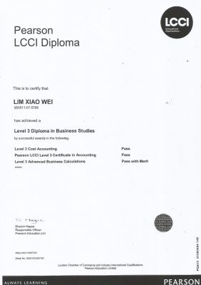 Diploma in Business Studies
