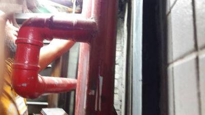 Repair service water tank Verdant Hill Hotel Kuala Lumpur