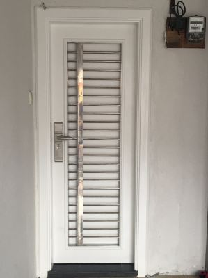Small Simple But Significant. 304 Stainless Steel Security Door