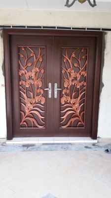 Alloy Grill Design Security Door.