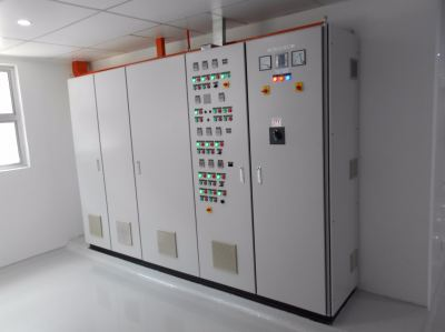 HVAC Control Panel c/w Motor Variable Speed Drives