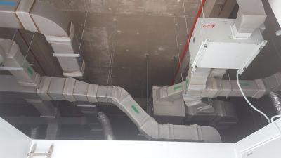Desiccant Dehumidifier Installation