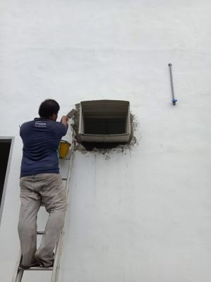 Supply & install Air Cooler at Eco Park Industry area
