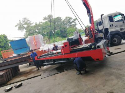 Arrival of New Fiber Laser Cutting Machine in Perak