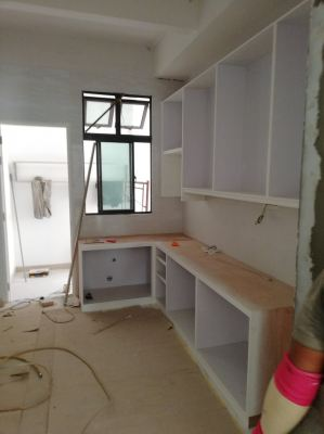 Carperntry Work at Kitchen Area