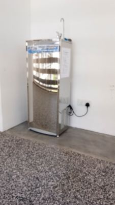 Installation For Stainless Steel Water Cooler Cold only At Nusajaya Campus