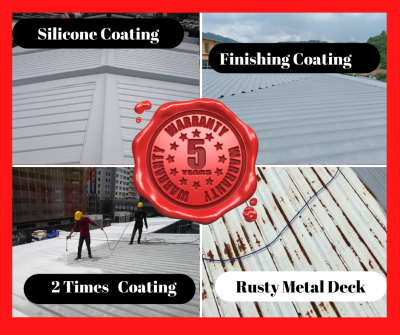 Master Repair Metal Deck With 5 Year Warranty. Call Now