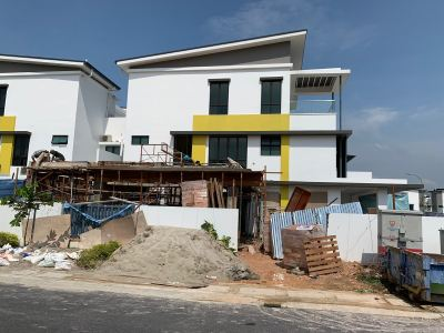 Setia Alam 3-storey Semi-D Extention
