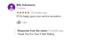Client Review & Testimonial