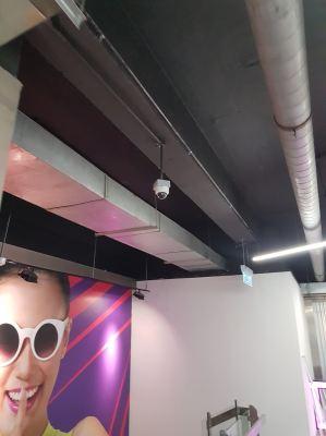 CCTV Installation at Gym Club 1 Utama
