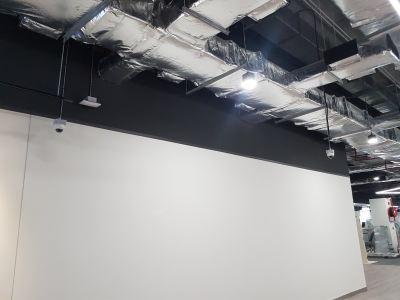 CCTV Installation at Gym Club myTown