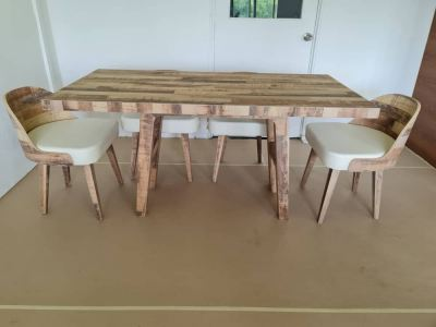 Laminate Dining Table & Chair