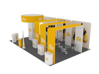Customized Island Booth