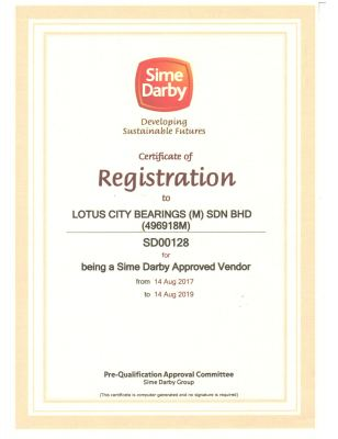 Sime Darby - Registration of Vendor