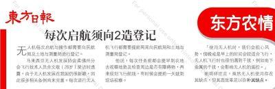 [东方日报] 无人机进军农业,洒药施肥样样行