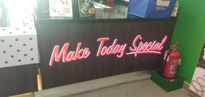 BACK LIGHT LED SIGN