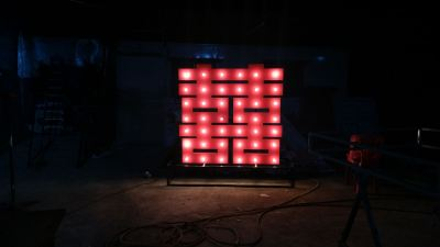 FRONT LIGHT LED SIGN
