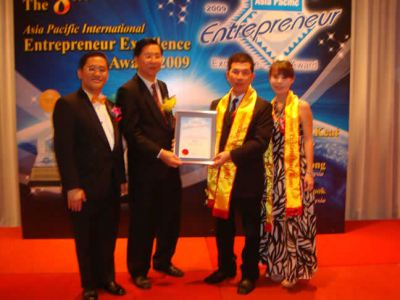 The 8th Asia Pacific International Entepreneur Excellence Award 2009