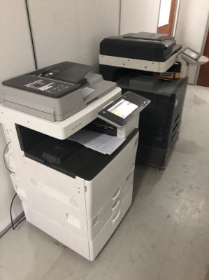 Installation Ricoh Copier To Replace Old Machine