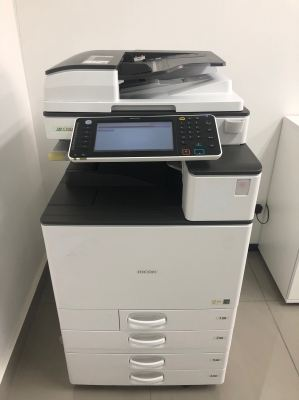Installation Ricoh Mpc 2503 At Senai Factory