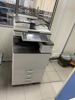 5 Units Ricoh Colour Copier Machine Install At Pause Gudang