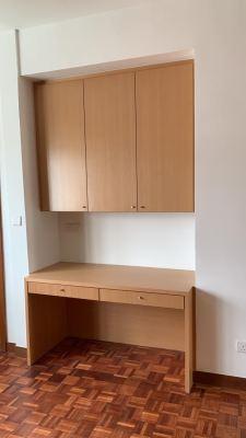 Desk & Cabinet