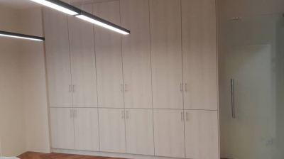 Custom made filing cabinet with close door